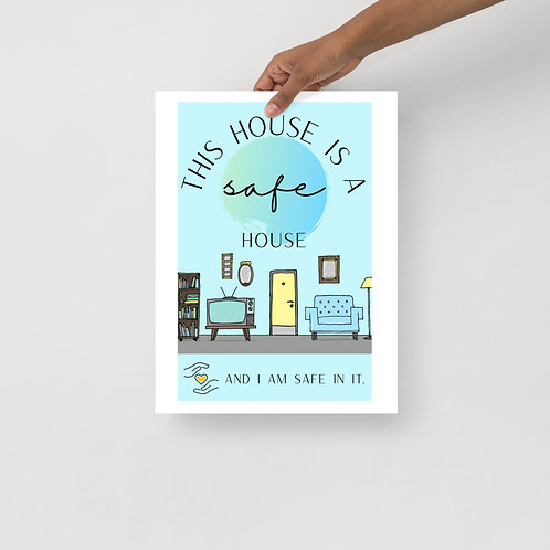 This House is a Safe House poster