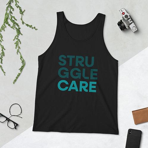 Struggle Care Unisex Tank Top
