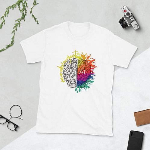 Neurodivergent AF Tshirt