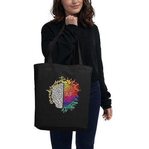 Neurodivergent AF Eco Tote Bag