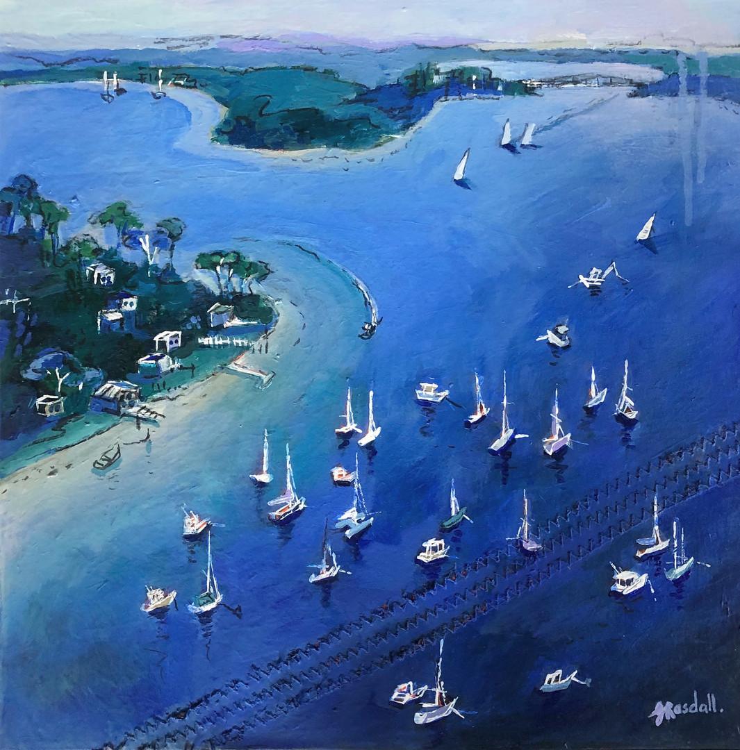 Hardys Bay I (40 x 40cm)
