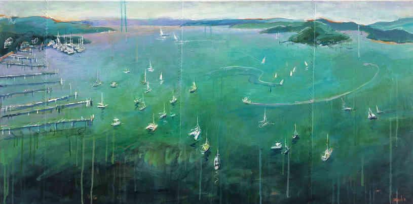 Harbour II (160 x 80cm)
