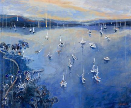 Huon Reflections (60x50cm)