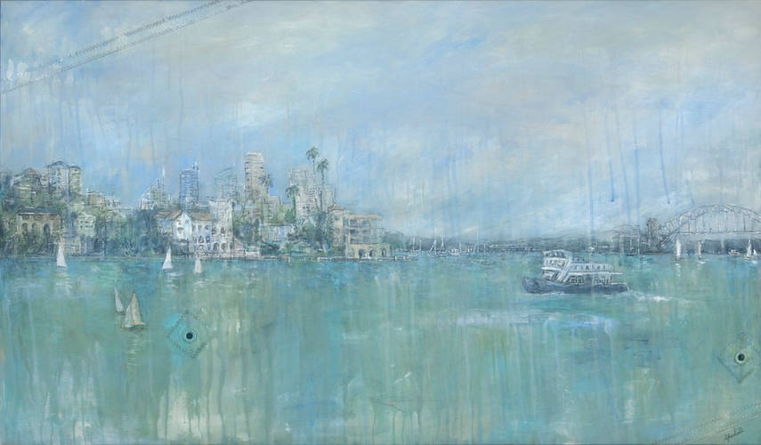 On Route To Watsons (120cm x 80cm)