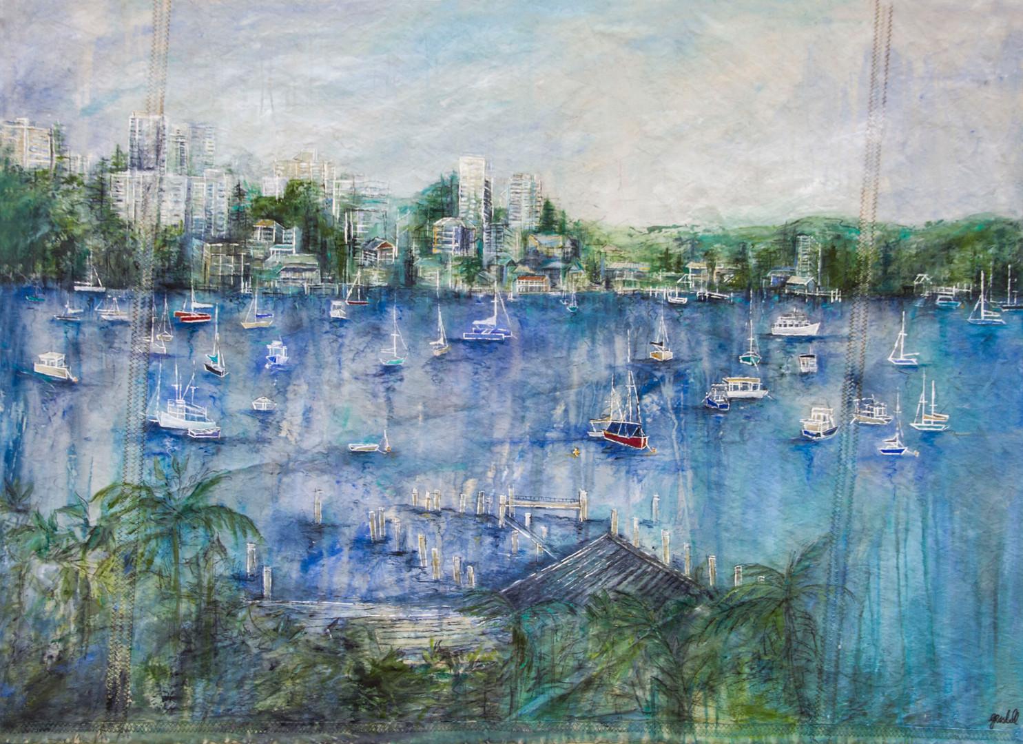 Harbour Side (110 x 90cm)