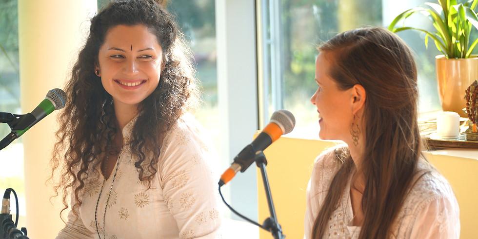 Online Kirtan mit Aleah Gandharvika & Shanti Manpreet