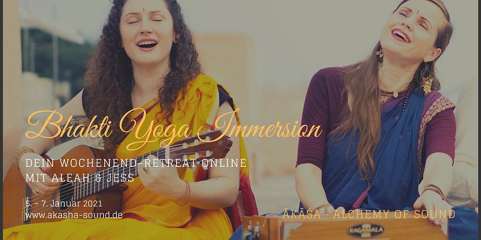 Online Bhakti Yoga Immersion