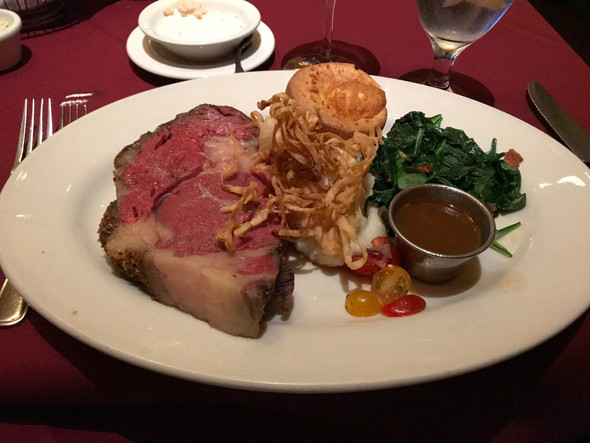 Prime Rib, Fine Art, and Fedoras