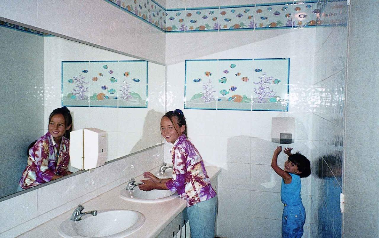 Les lavabos