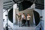 Creative Team in Studio