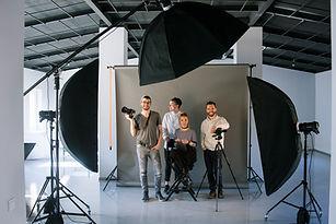 スタジオのクリエイティブチーム