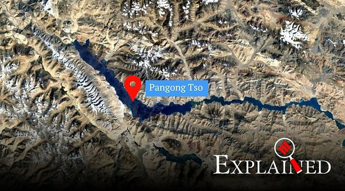 India-China conflict in Ladakh: The importance of the Pangong Tso lake.