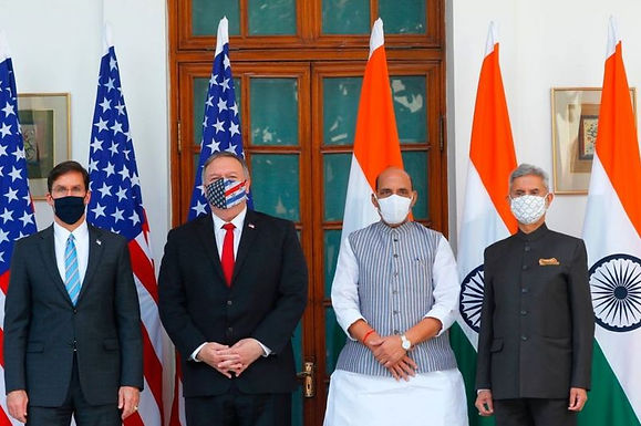 US-India defence relationship reflects alignment on security issues of mutual concern