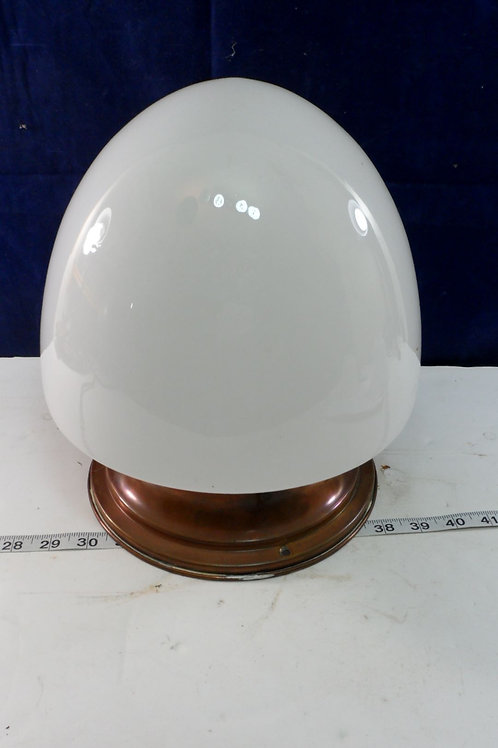Flush Mounted School House Light Fixture 12in Height And 5in Fitter