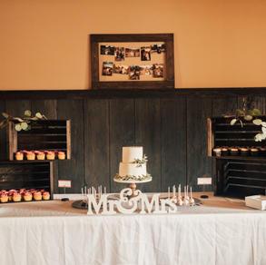 Inside dessert table