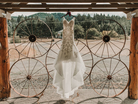 An Oregon September Wedding: Tracy and Scott