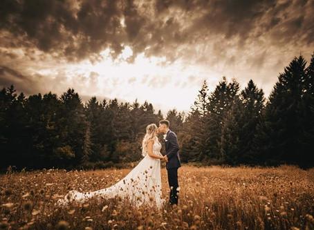 Jessica + Tanner: Romantic summer wedding @ Addivia