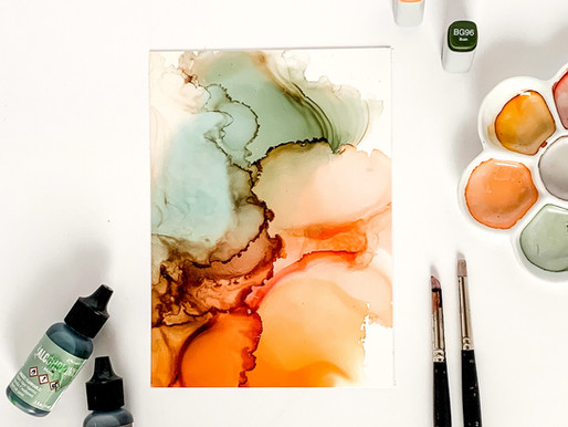 Getting started with alcohol ink- The essentials
