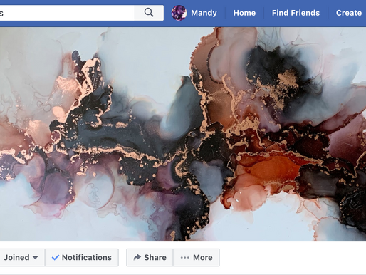 Abstract Alcohol Ink Artists: A New Facebook Group
