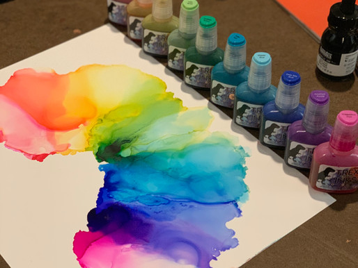 12 Reasons why you need T-REX alcohol inks