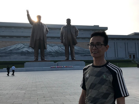 Taekwondo Road Tour DPR Korea Visit-2.  태권도 로드 투어 평양방문-2