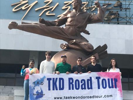 Recruitment of Participants in the Taekwondo Road Tour