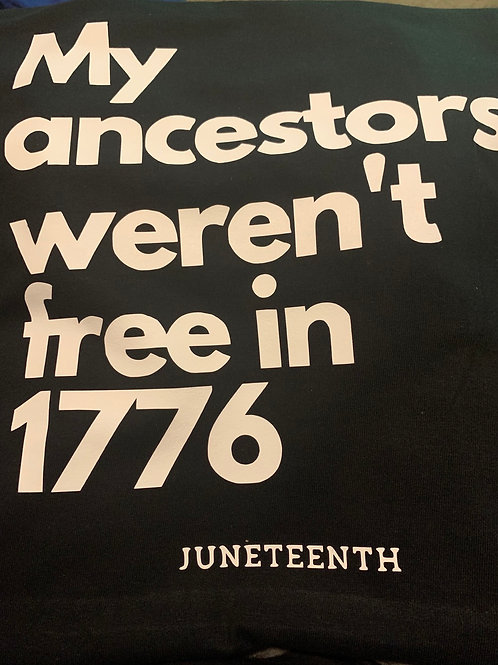 Not Free in 1776