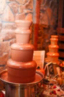 Your guests would enjoy a chocolate fountain at your next event.