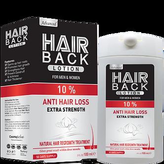 """Лосьон против выпадения с миноксидилом 10% """"Hair Back"""""""