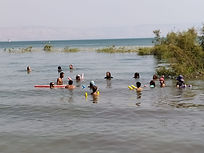 watsu in the sea of galilee וואטסו בכינר