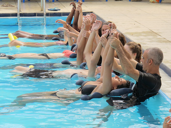 water lotus pillow watsu aquatic massage