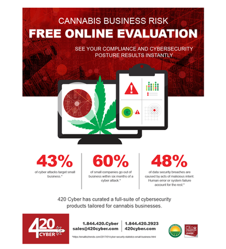 Print Ad, 420 Cyber Security