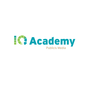 Logo, IQ Academy, Publicis Groupe