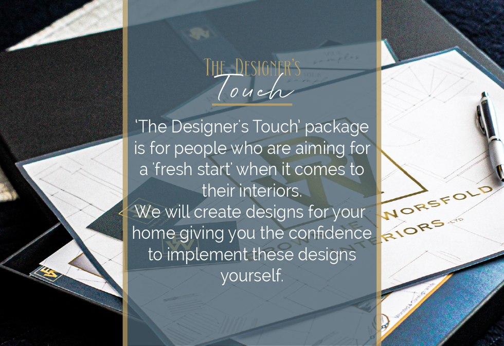 The Designer's Touch