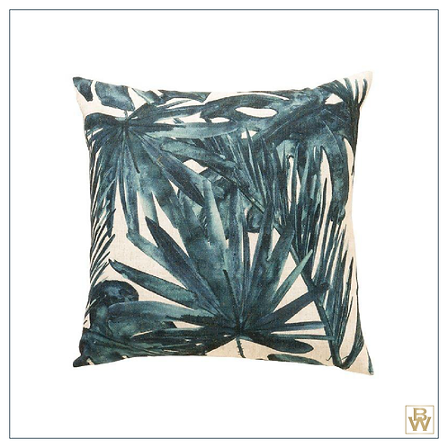 'Wisely' Feather Filled Cushion, Green