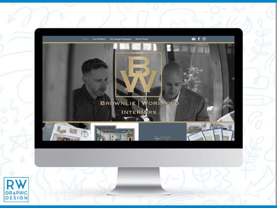 Brownlie Worsfold Interiors Ltd Website