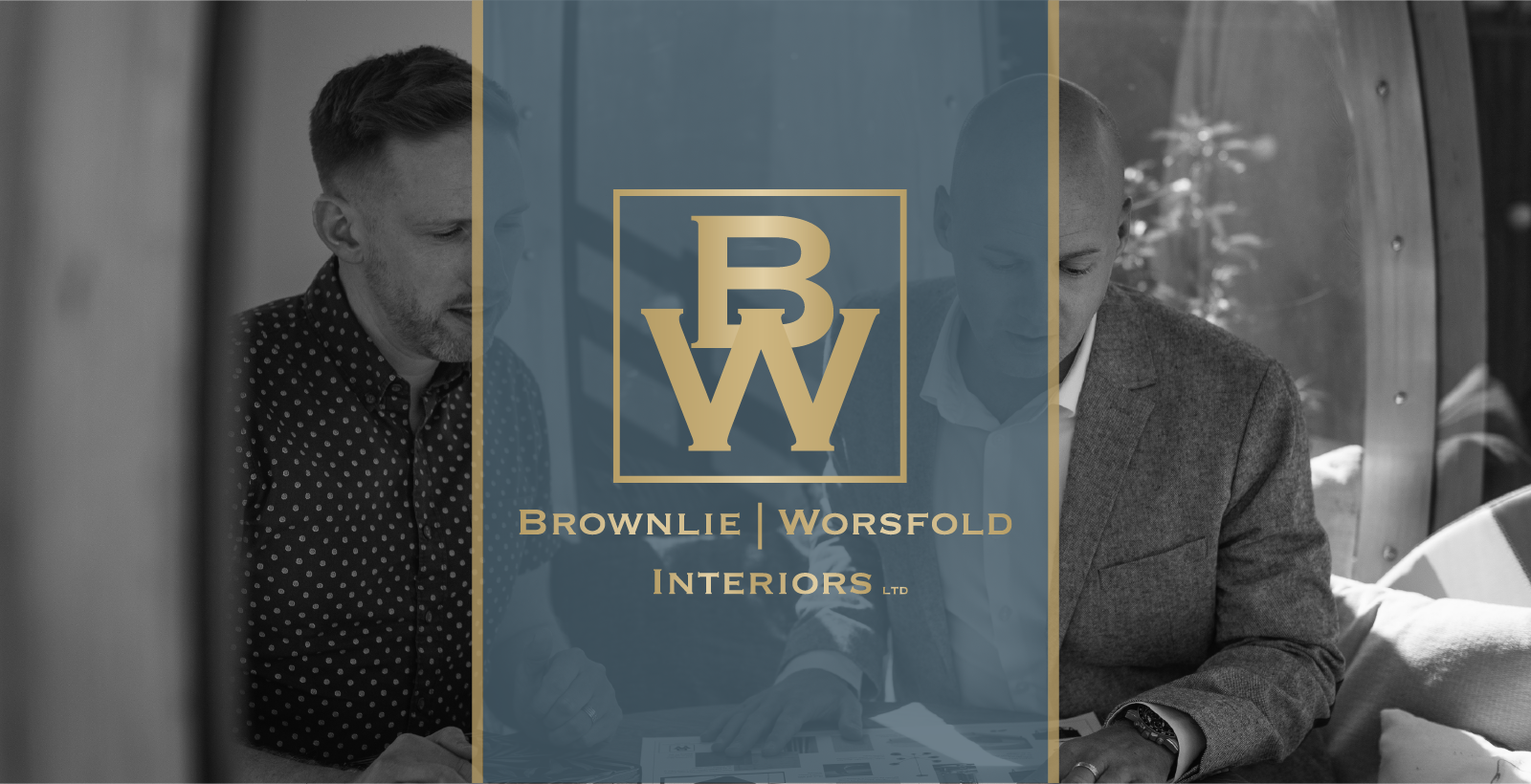Scott Brownlie & Richard Worsfold of Brownlie|Worsfold Interiors Ltd