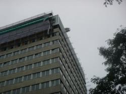 Demontage wfc toren