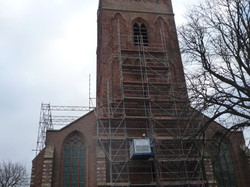 montage kerktoren