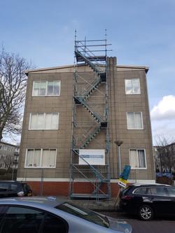 Montage trappenhuis