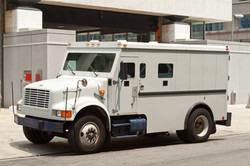 Ground / Brinks Courier For Gold and Diamond Transportation