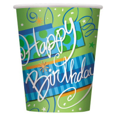 Bright Birthday 9oz Cup