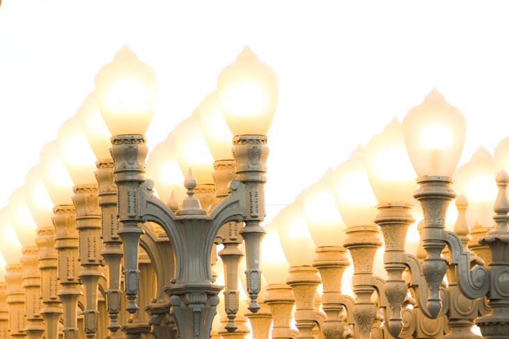 """Modern Lamps"" Los Angeles, California. 2017"