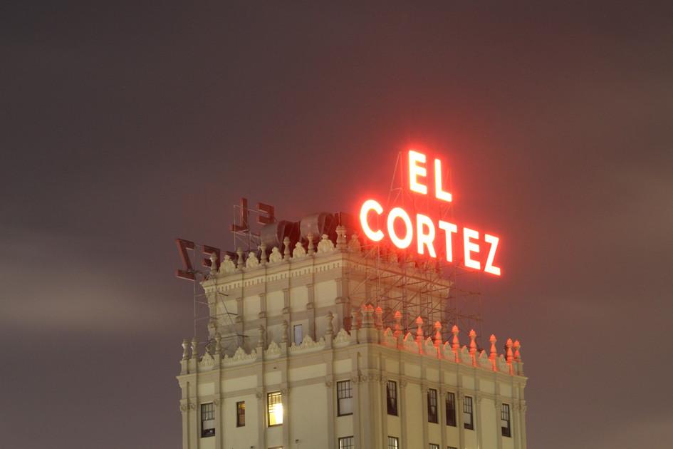 """""""El Cortez"""" San Diego, California. 2017"""
