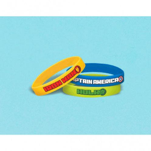 Epic Avengers Rubber Bracelets