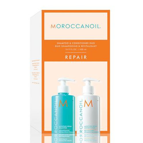 Moroccanoil Moisture Repair Shampoo and Conditioner Duo Pack 500ml