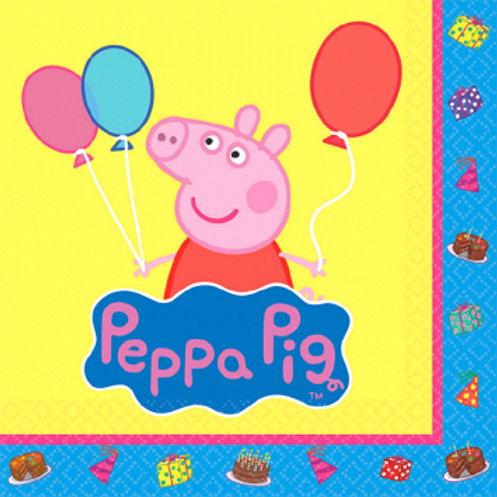 Peppa Pig Bev Napkins