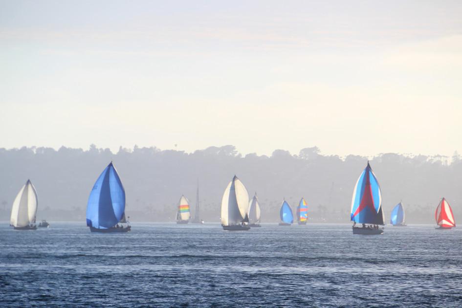 """""""Blue Sailbot"""" San Diego, Califonia. 2018"""