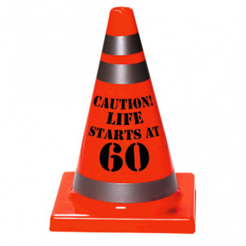 60th Birthday Cone