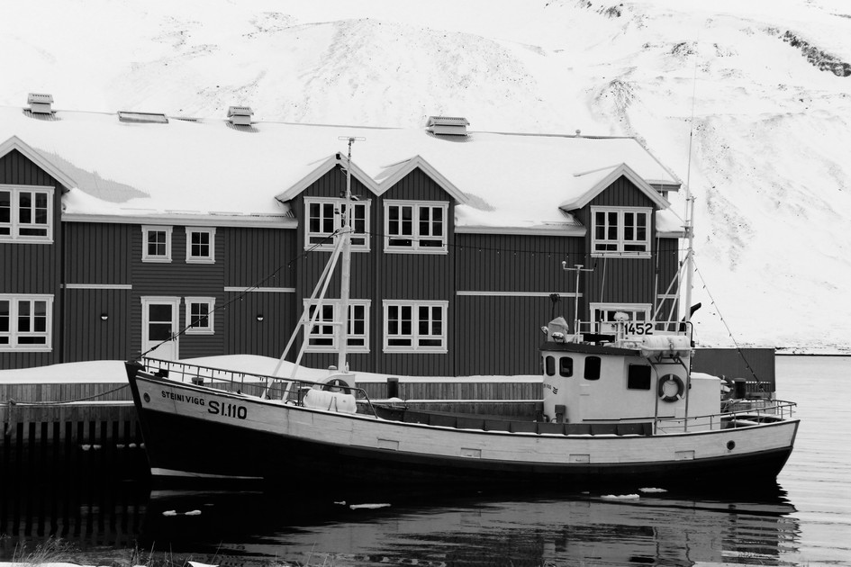 """""""The House and the Boat"""" Iceland. 2018"""